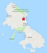 map of Skyros Greece