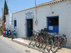 Ilias rent a bike, Spetses