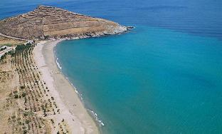 Golden beach Hotel, Agios Fokas Beach, Tinos, Cyclades, Greece