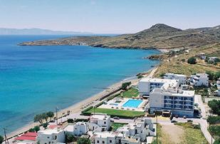 Tinos Beach Hotel, Kionia Beach, Cyclades, Greece