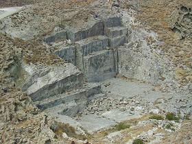 Tinos marble, Tinos Griekenland marmergroeve.