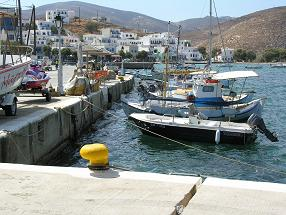 Tinos stad Griekenland, Tinos Town in Greece