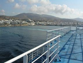 Tinos stad Griekenland, Tinos Town in Greece