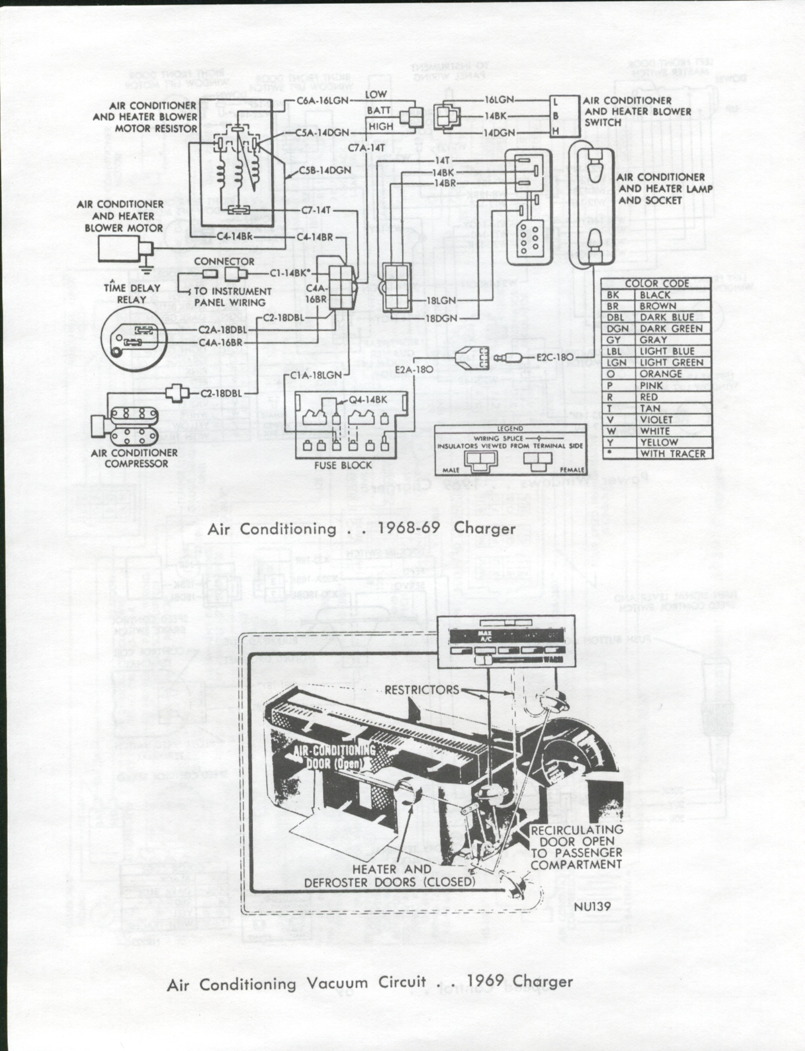 1968 Dodge Charger Ac Wiring Diagram Electrical Work Chevy Chevelle 1969 Rh Angelfire Com 1974