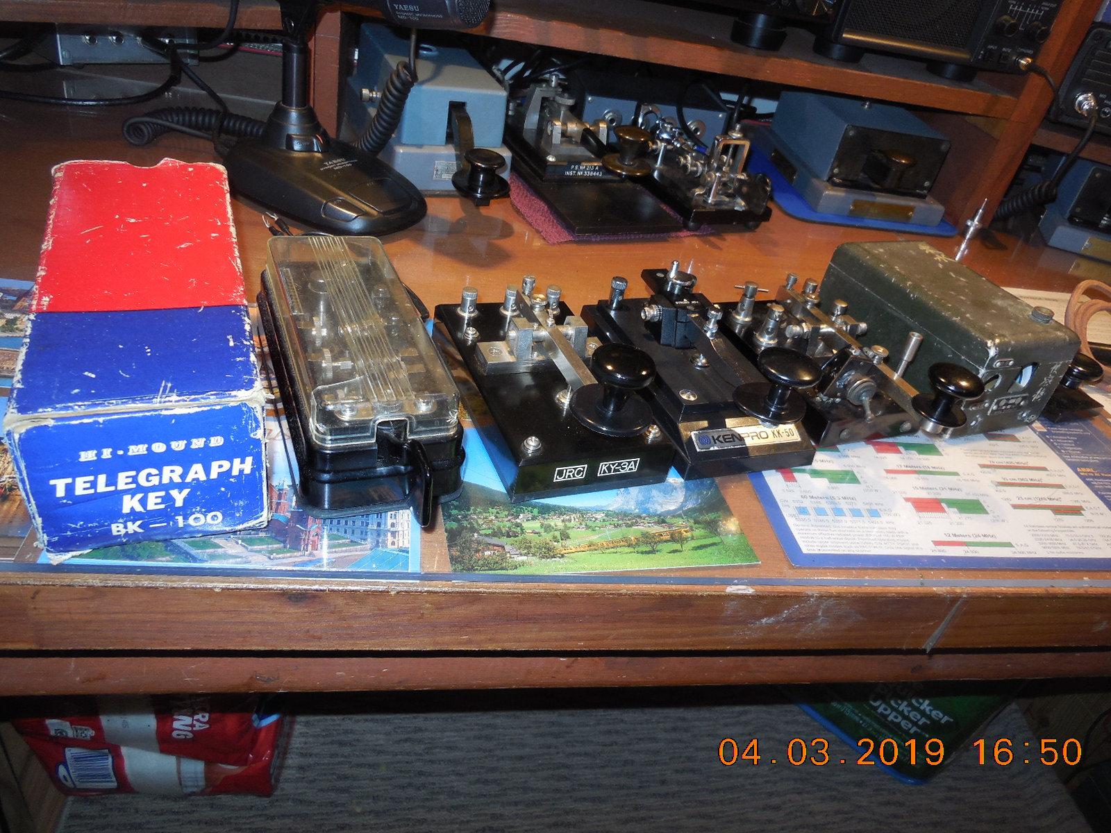 Further Morse Keys, Etc