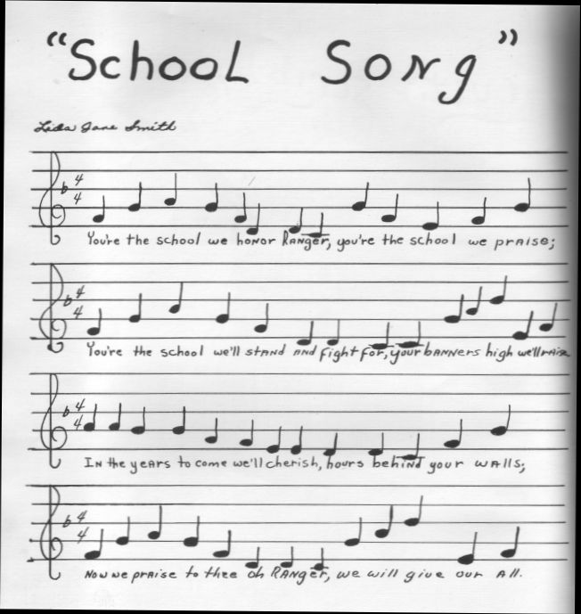 Ranger School Song (present)-TX