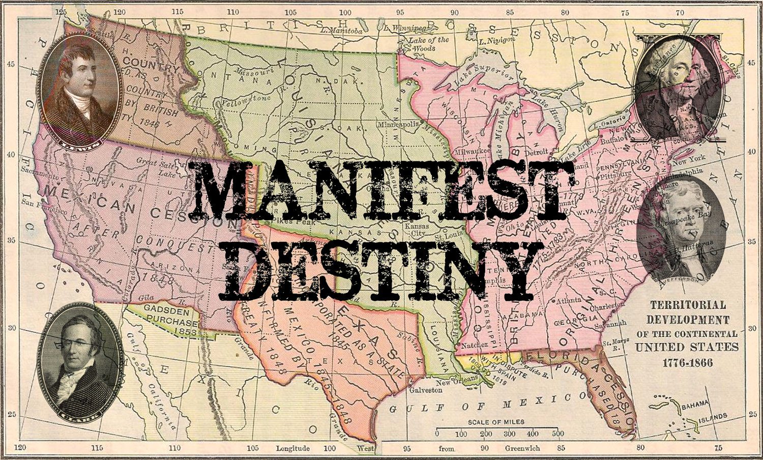 Manifest destiny and the dances with
