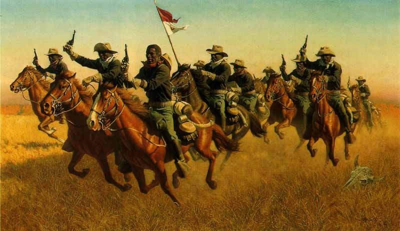 Image result for cowboys fighting apache indians