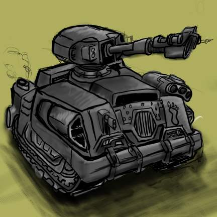 -- DSG 052: Vehicle Design: Tank(an enclosed heavily armed and armored combat vehicle