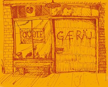store front garage