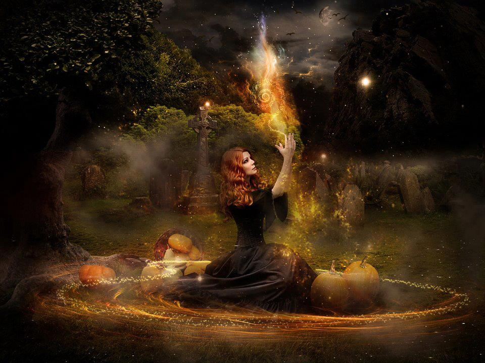 Especial Halloween, historias, leyendas y películas de terror Samhain-circle-of-light