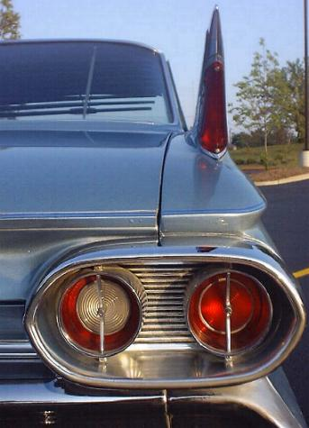 Taillight on 1966 Cadillac Deville Convertible