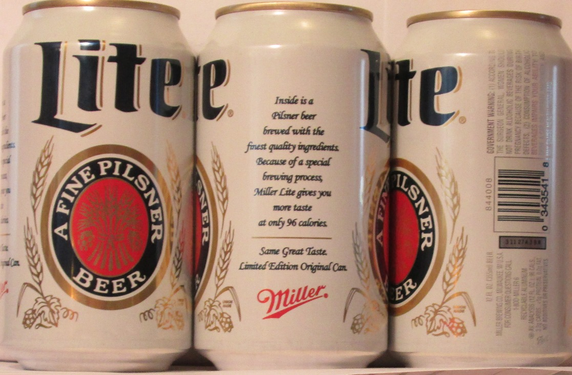a3f15d3cd36b1 LITE (MILLER) A FINE PILSNER BEER