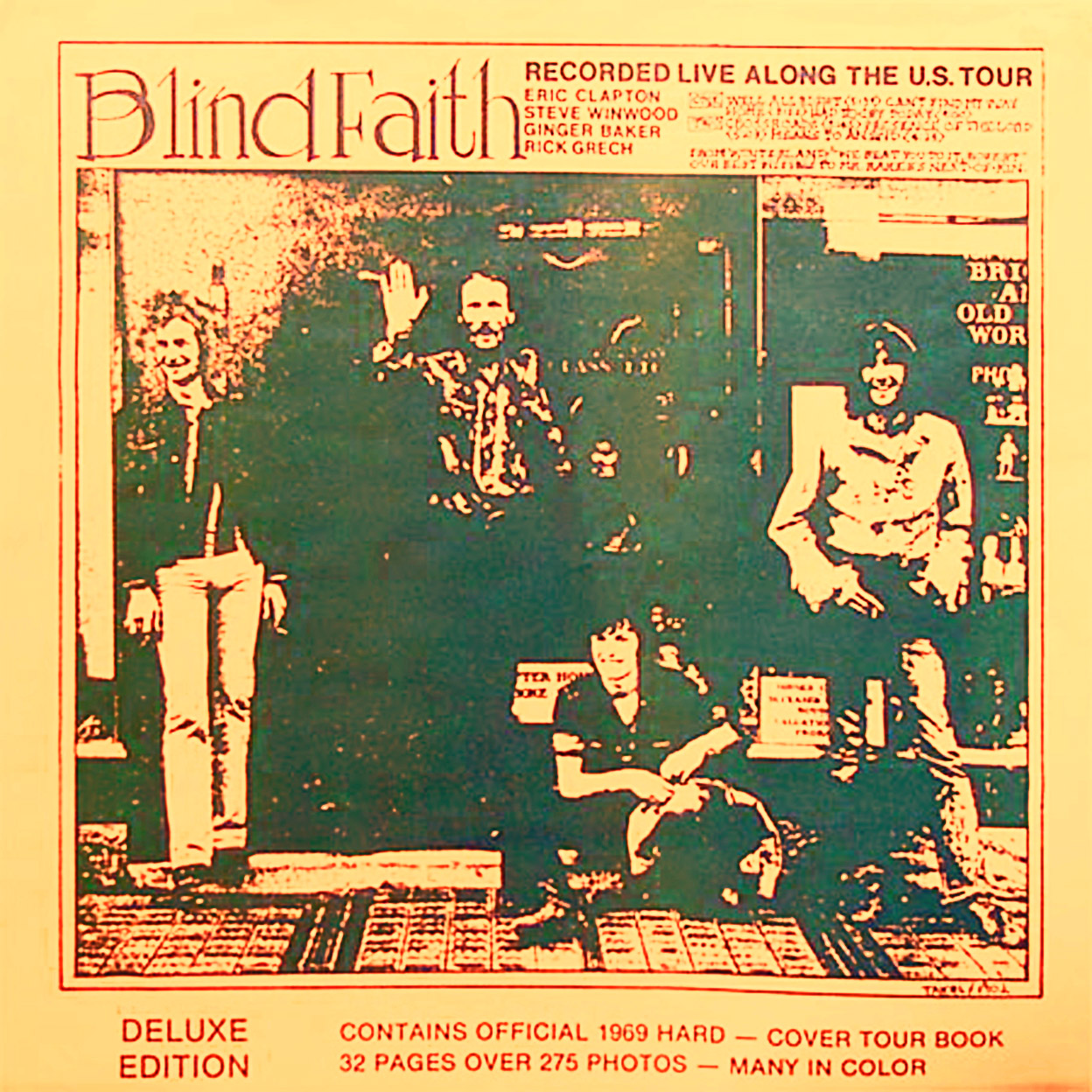 Blind Faith album cover, Polydor/Nippon, 1987.