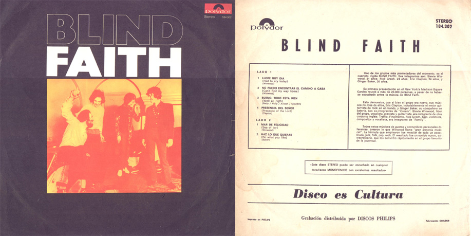 Blind Faith Lyrics