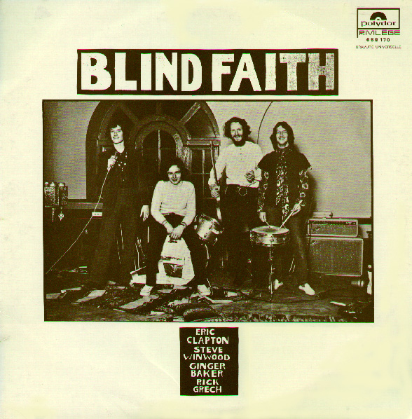 Blind Faith album cover, Polydor/France, 1973.