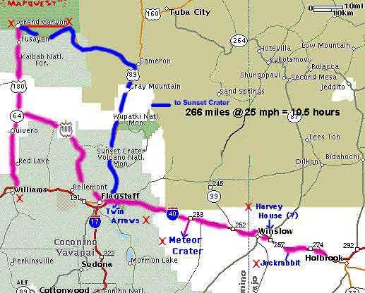 Map Williams Arizona arizona.html