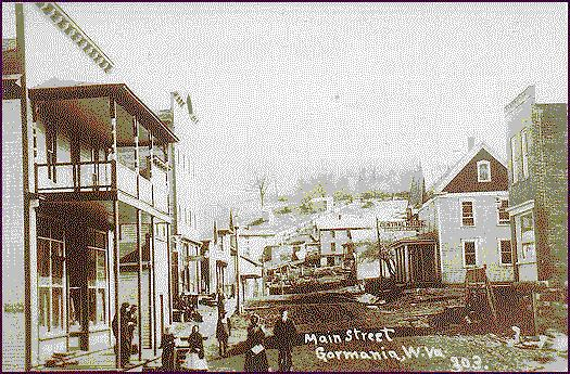 Early picture of Main Street