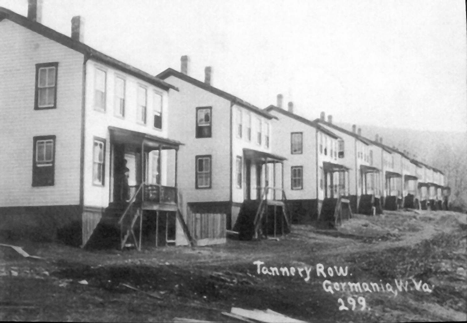 Tannery Row houses